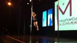 Pole Dance competition final - Miss Pole Dance Argentina & Sudamérica 2013 vid 11