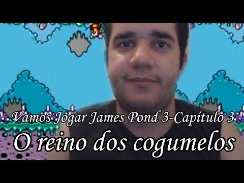 Vamos Jogar James Pond 3-Capítulo 3-O reino dos cogumelos