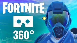 [360 VR video] Fortnite 360° Nintendo Virtual Reality EPIC Battle Royale Oculus Quest PSVR