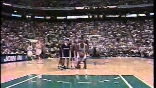 Lakers at Jazz - Game 1 - '98 Conf Finals - 5/16/98 (Highlights)
