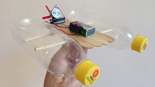 How to make an Electric Boat | Simple Electric Boat - Air Boat