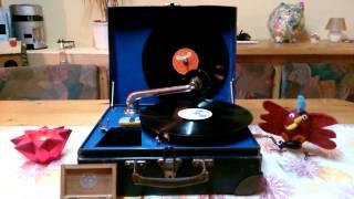 Hoch droben auf dem Berg - Rudi Schuricke - H. Munsonius -  78 Rpm Grammophon