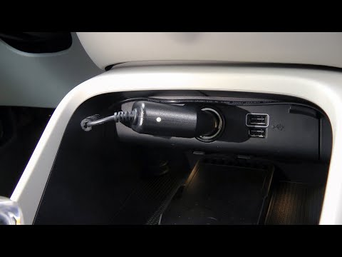 Volvo XC40 (2019-2021): How To Install The Dash Camera And Hide The Wire.