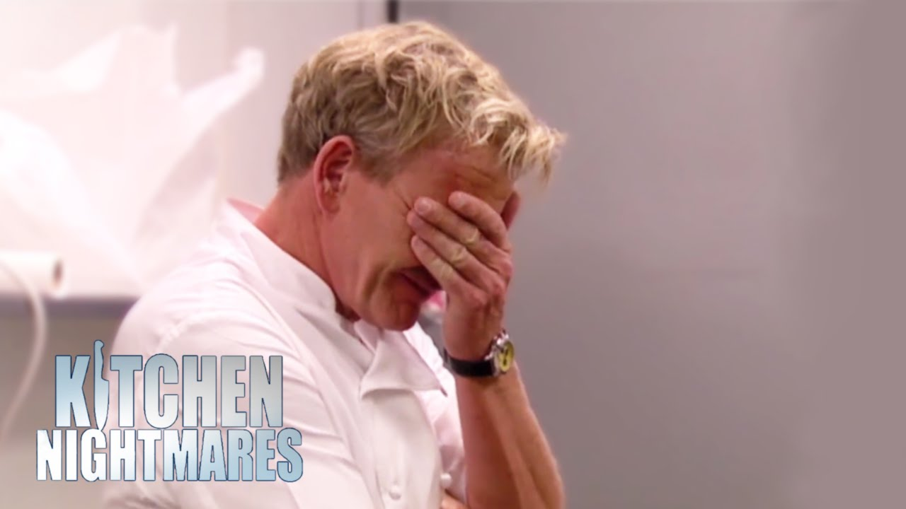 'you Don't Microwave A Salad'  Kitchen Nightmares Youtube