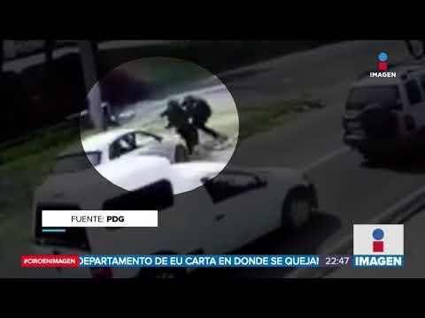 Atropellan a dos policías en Morelos