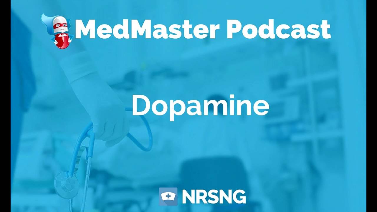 Dopamine Nursing Considerations, Side Effects, and Mechanism of Action  Pharmacology for Nurses