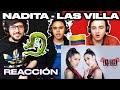 [Reacción] LAS VILLA - Nadita (Official Video) - ANYMAL LIVE 🔴