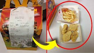 6-лет назад ДЕВУШКА купила еду в Макдональдсе и ХРАНИЛА! Спустя 6-лет ОНА решила ее показать!