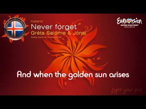Greta Salome & Jonsi -