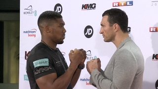 FISTS OF HEAVYWEIGHTS - ANTHONY JOSHUA v WLADIMIR KLITSCHKO GO HEAD TO HEAD AGAIN IN COLOGNE!