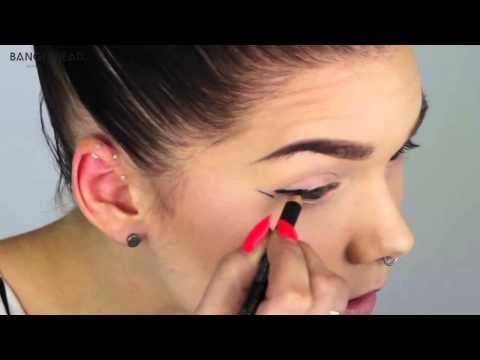 3 способа подвести глаза // 3 eyeliners tutorial (Linda Hallberg) RUS