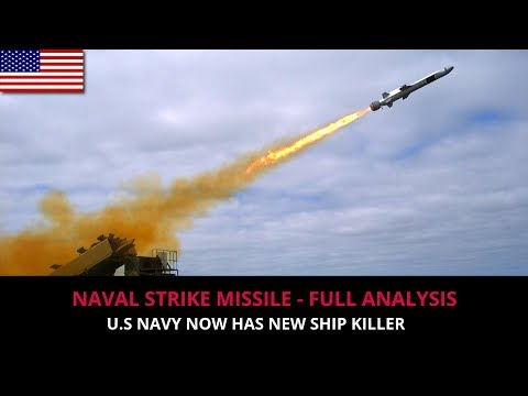 NAVAL STRIKE MISSILE- FULL ANALYSIS