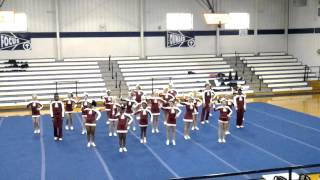 Arkansas High Cheer : Parker's Chapel competition