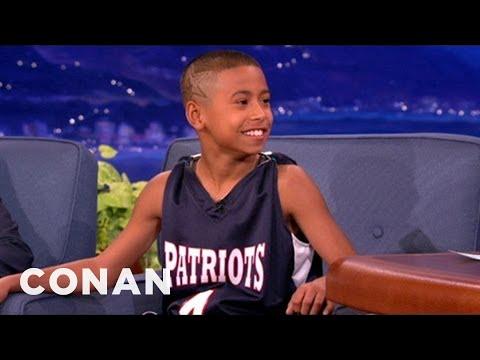 11 Year Old Basketball Star Julian Newman Interview 02/28/13 - CONAN on TBS
