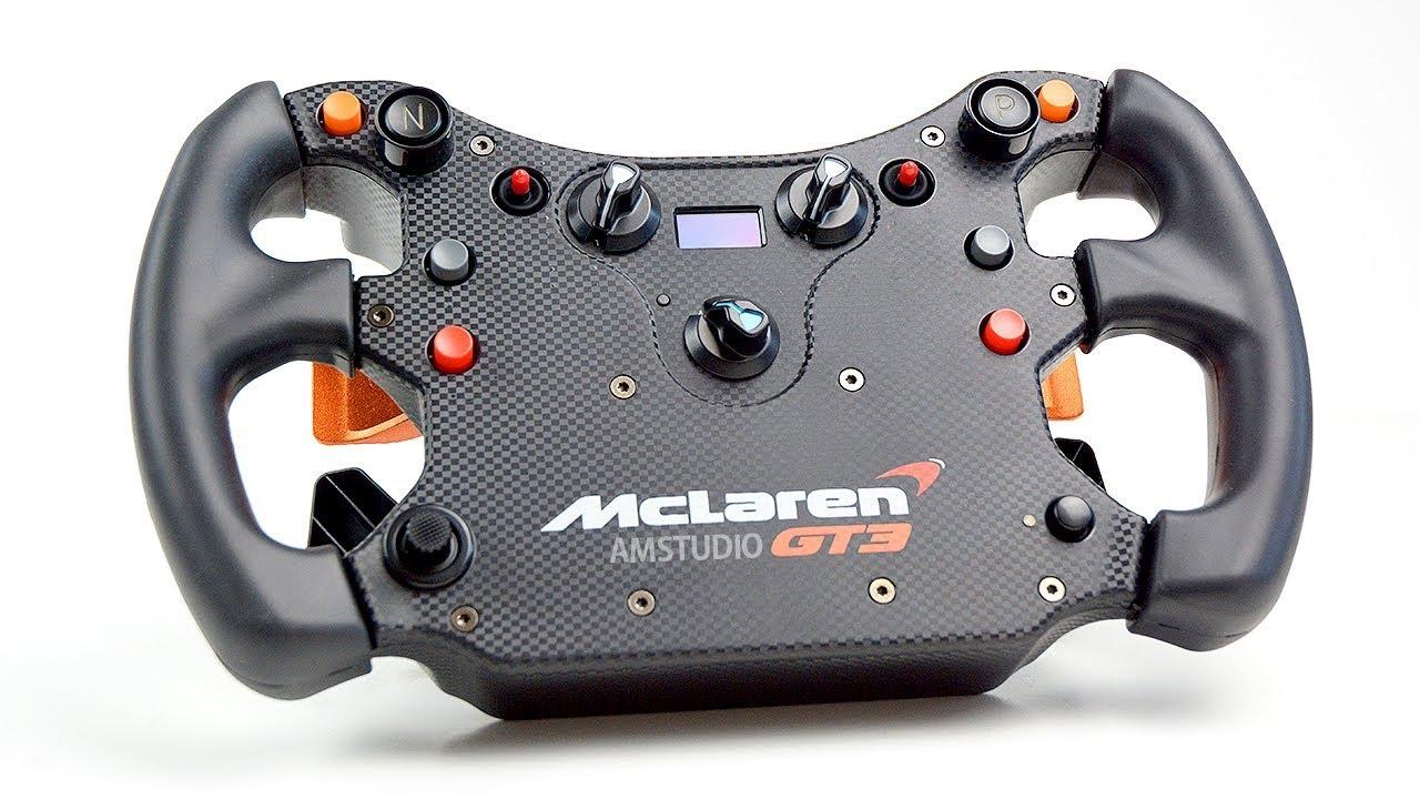 FANATEC MCLAREN GT3 WHEEL