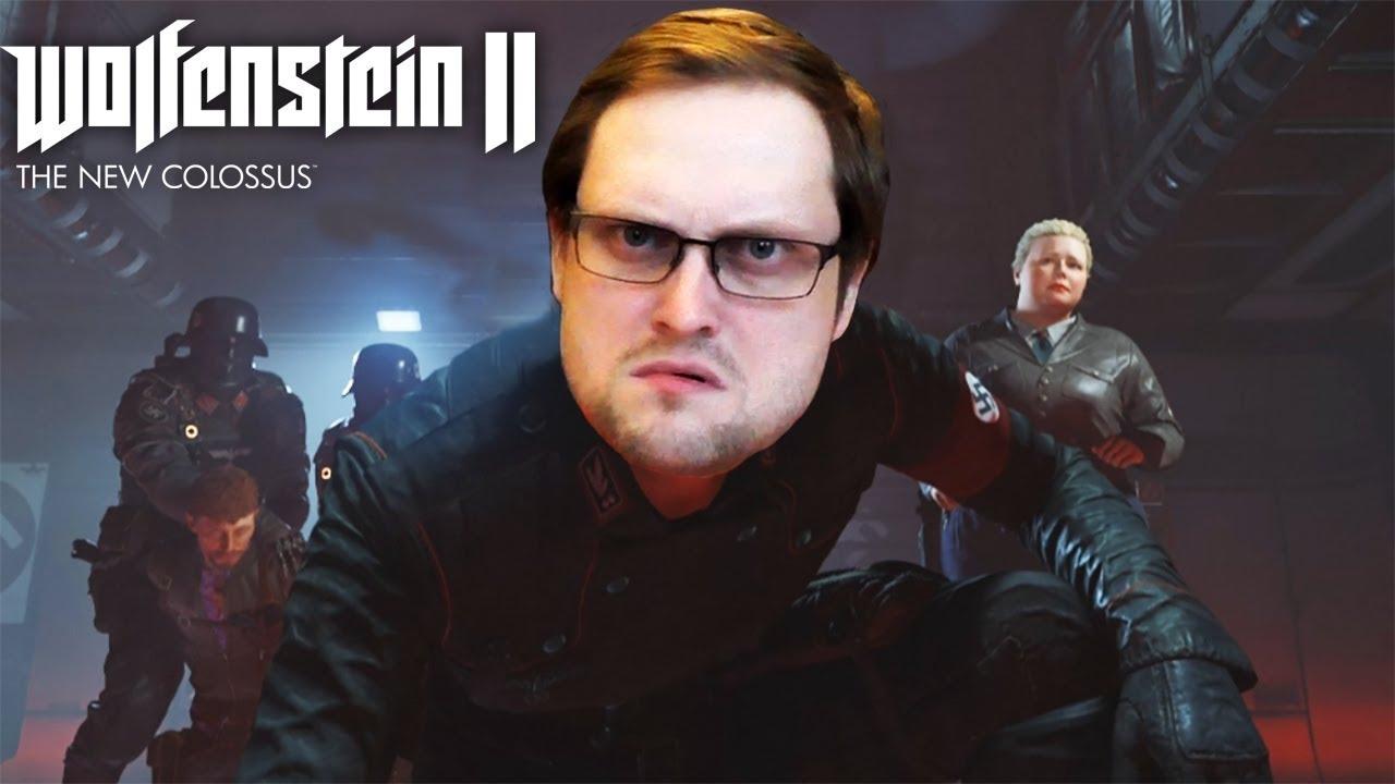 Download СТАРОЕ НОВОЕ ЗЛО ► Wolfenstein II: The New Colossus #1