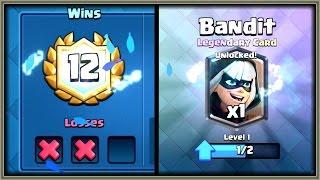 Clash Royale - 12 WINS! Bandit Draft Challenge Gameplay