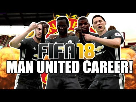FIFA 18 Manchester United Career Mode #4 | Welcome To The Party, Pals!