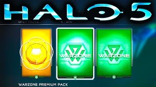 HALO 5 | WARZONE PREMIUM REQ PACKS WEEK 3 (Halo 5 Guardians)