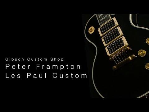 Gibson Custom Shop Peter Frampton Les Paul Custom  •  Wildwood Guitars Overview