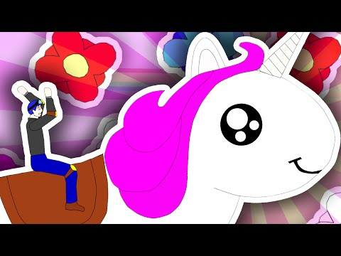 Thumbnail: DANTDM'S UNICORN!! | Happy Wheels