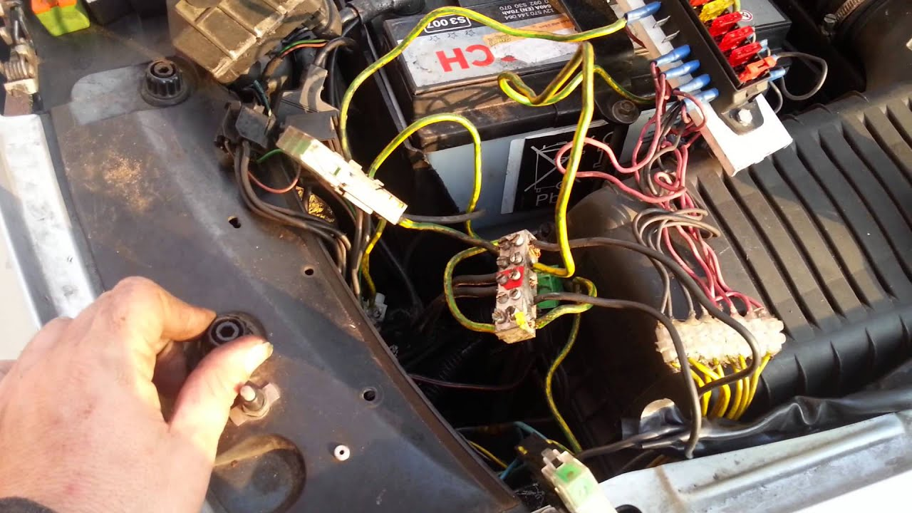 small resolution of citro n xm fusebox wiring youtube citroen xm fuse box