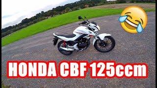 Honda CBF 125ccm Probefahrt!
