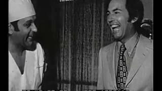 Reportaje al Dr. René Favaloro y al Dr. Christiaan Barnard en el Sanatorio Güemes, 1972.