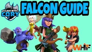HOW TO FALCON: OP TH10 ATTACK STRATEGY, FALCON GUIDE TH10