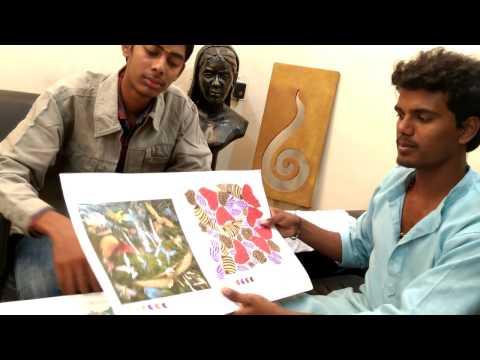 Government College Of Fine Arts Chennai - Artist Santhosh Kumar.