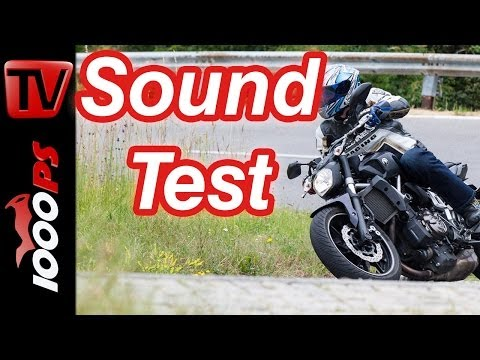 Soundvideo | Yamaha MT-07 | 2-Zylinder Sound