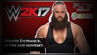 WWE2K17 PS3/Xbox 360 - Braun Strowman Update Entrance, Signature and Finisher