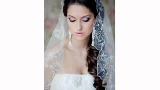 Свадебные Прически Собранные Волосы Фатой