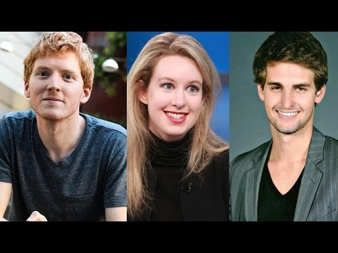 Top 10 Youngest Self Made Billionaires In the World || Pastimers