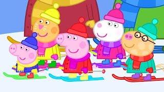 Peppa Pig Français | Hiver | Compilation | Dessin Animé Pour Enfant