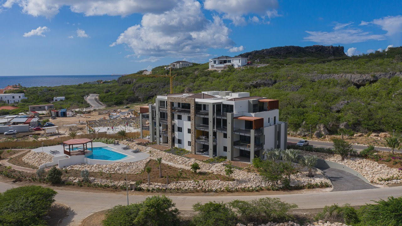 Cape Marie Luxury Apartments & Penthouse Curacao NEW VIDEO ...