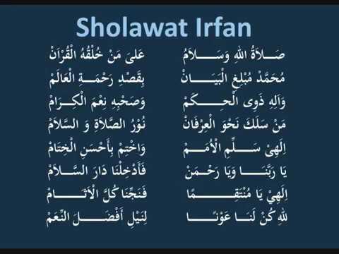 Sholawat Irfan Versi 1
