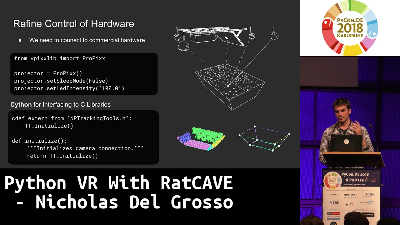 Image from Python VR With RatCAVE