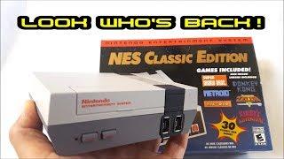 Nintendo Classic Edition Mini is BACK!!! 6-29-18 at Wal-Mart