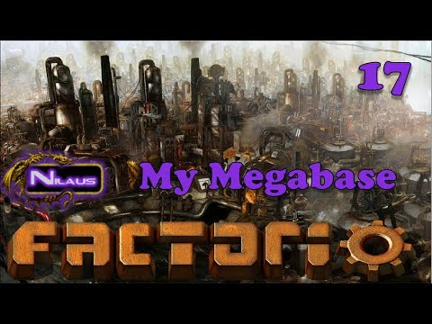Factorio - My Megabase E17 - Beaconed Steel Outpost