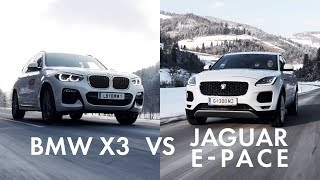 BMW X3 vs JAGUAR E-PACE