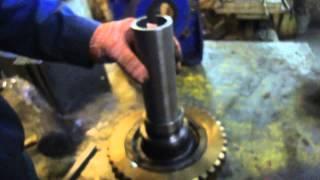 Черв'ячний редуктор TRAMEC ремонт складного вузла