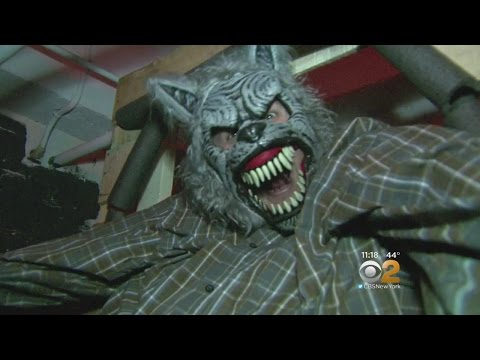 NYPD turns police station into haunted house