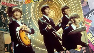 The Beatles On The Set Of Top Of The Pops 1966