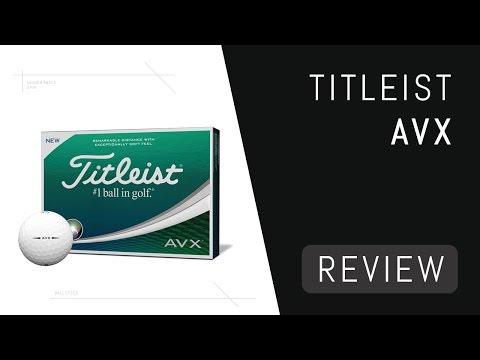 Titleist AVX Ball Review