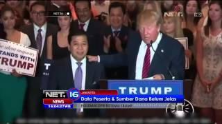 Tanggapan Tantowi Yahya Terkait Polemik Pertemuan DPR dan Trump - NET16