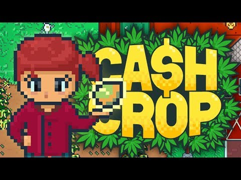 Cash Crop - OUR WEED EMPIRE BEGINS! 💵 Let's Play Cash Crop Gameplay • Episode #1