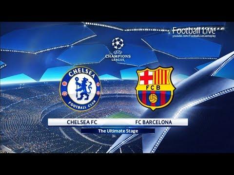 PES 2018 | Chelsea FC vs FC Barcelona | UEFA Champions League (UCL) | Gameplay PC