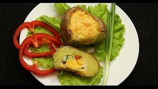 Запеченный картофель с яйцом - Рецепты от Со Вкусом
