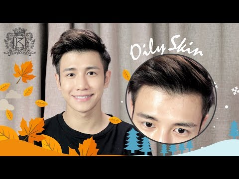 Skincare for men with dry skin (Fall/Winter routine) | RickyKAZAF